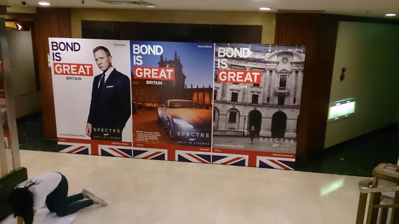 英國在台辦事處活動立牌